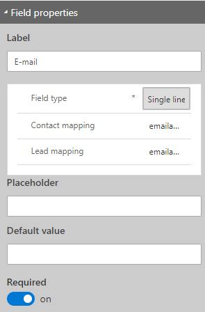Dynamics 365 Marketing - For A Fact Marketing form Emailaddress1